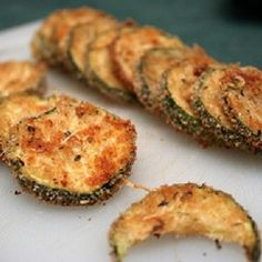 A snack that's healthy, delicious, and easy might seem out of reach, but these zucchini chips fit the bill perfectly! 10-15 minutes in the oven is all you need for a crispy, crunchy treat perfect for anything from a workplace snack to movie night.
