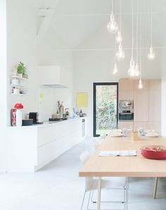 Via NordicDays.nl | Lovely Bright Belgium Home | White