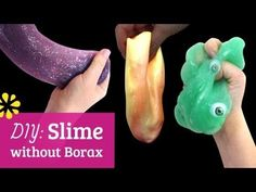 How to Make Slime without Borax-lots of types!