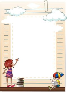 School posters and backgrounds, timetable - paper - Borders For Paper, Borders And Frames, School Border, Page Borders Design, Family Logo, School Frame, School Clipart, Cute Frames, School Posters