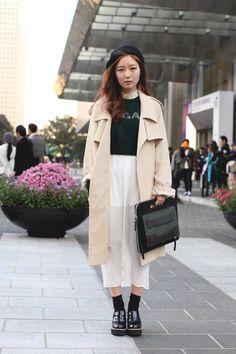 Seoul Fashion Week: Street Style (фото 18)