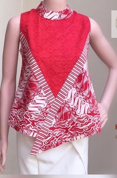 Blouse Batik, Batik Dress, African Wear, African Fashion, Batik Kebaya, Casual Dresses, Fashion Dresses, Short Frocks, Batik Fashion