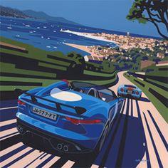 Jaguar F-Type by Tim Layzell