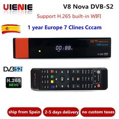 Freesat V8 upgrade Gtmedia V8 NOVA Satellite TV Receiver DVB-S2 Europe Clines for 1 Year Built Wifi Dongle High Quality Stable  Price: $ 77.99 & FREE Shipping   #rc #security #toys #bargain #coolstuff #headphones #bluetooth #gifts #xmas #happybirthday #fun