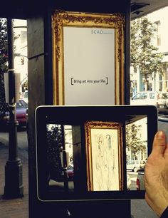Augmented Reality by Vanessa Brown, via Behance