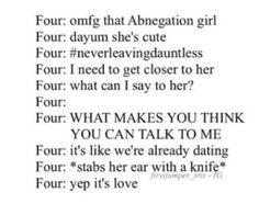 Quotes Movie Divergent Tobias 58 Ideas For 2019 Divergent Jokes, Divergent Hunger Games, Divergent Fandom, Divergent Trilogy, Divergent Insurgent Allegiant, Insurgent Quotes, Book Memes, Book Quotes, Bookworm Quotes