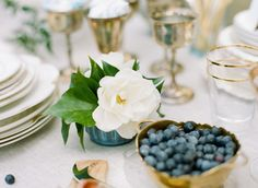 Big Love Wedding Design, Intimate Vow Renewal, family style tablescape