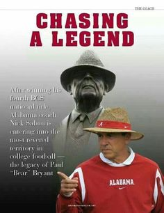 871aed17ba1 Difficult to match The Bear  Alabama Football Team