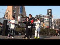 [150307] JJCC Guerilla Concert JJCC -질러(Fire) - YouTube-----------JCC show their love with guerilla concerts on the streets for White Day