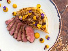 Kačeří prsa s mrkovým pyré a rozinkami I Chef, Veuve, Sausage, Steak, Food, Kitchen, Meal, Sausages, Essen