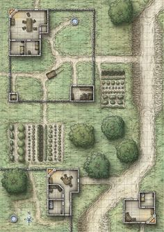 Tagged with fantasy, dnd, dungeons and dragons, battlemaps; Dungeons and Dumps: My Battle Map Collection Dungeons And Dragons Homebrew, D&d Dungeons And Dragons, Fantasy City, Fantasy Map, Pathfinder Maps, Rpg Map, Building Map, Map Layout, Dungeon Maps
