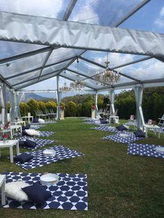 Hamptons Picnic Style wedding