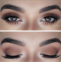 48 Magical Eye Makeup Ideas - Makeup Tips , 48 Magical Eye Makeup Ideas Natural Yet Bold Make-up. Natural Eye Makeup, Eye Makeup Tips, Makeup Ideas, Makeup Tutorials, Makeup Hacks, Matte Makeup, Hair Makeup, Makeup Geek, Nail Ideas