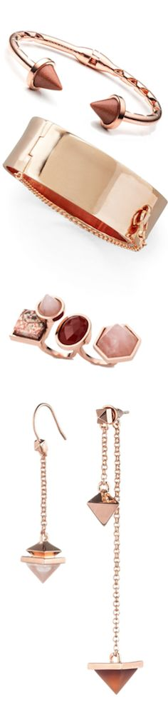 Eddie Borgo Jewelry Eddie Borgo, Jewelry Sets, Arrow Necklace, Blush, Rose Gold, Jewels, Bracelets, Earrings, Shoes