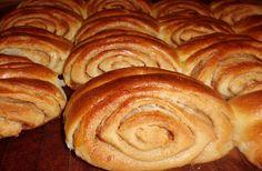 Franzbrötchen                                                                                                                                                                                 Mehr Cake Recipes, Goodies, Sally, Bread, Desserts, Blog, Pastries, Bread Baking, Pies