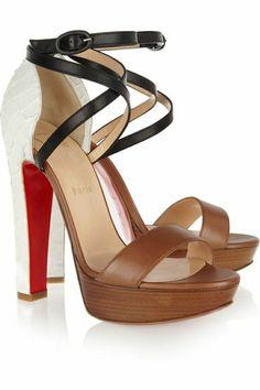 sandales à talons de Christian Louboutin