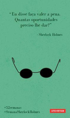 Neste 52 semanas, inspire-se com a trajetória da célebre personagem criada por Arthur Conan Doyle