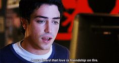 """drop dead diva - fred """"I once heard that love is friendship on fire."""" Love that!"""