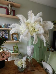 Great Gatsby party www.petalplaydesign.com  @Kristin Pender this would be a great center piece if we decided on Great Gatsby theme for prom