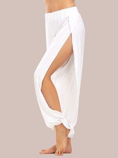 GET $50 NOW | Join Zaful: Get YOUR $50 NOW!https://m.zaful.com/high-slit-elastic-waist-harem-pants-p_438798.html?seid=1376346zf438798