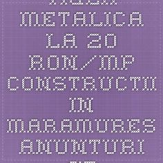 tigla metalica la 20 ron/mp - Constructii in Maramures - Anunturi studentesti Gratuite Online - vand, cumpar, inchiriez online