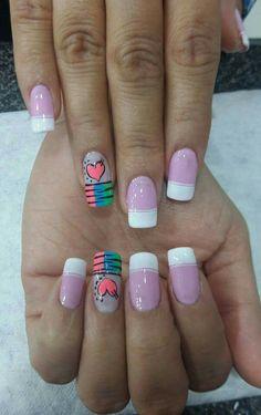 Acrylic Nails At Home, Crazy Nails, Margarita, Hair And Nails, Nail Designs, Hair Beauty, Make Up, Nail Art, Black Nails