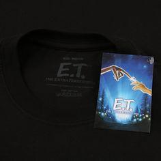 E.T Mens - Eclipse - T-shirt - Black - XXLarge