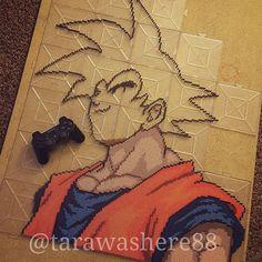 Wip! #perlerbeads #perler #hama #hamabeads #fusebeads #beadart #kandi #rave #plur #sprites #pixel #pixelart #fanart #dbz #dragonball #dragonballz #goku #vegeta #trunks #bulma #broly #anime #manga #cell #frieza #animeart #dbzart #dbgt #dbsuper