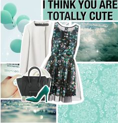 """you are totally cute!"" by myduza-and-koteczka on Polyvore"