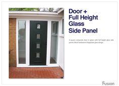 A notice on Fusion Doors Contemporary Front Doors, Double Front Doors, Composite Door, External Doors, Back Doors, Glass Design, Engineered Wood, Bungalow, Garage Doors