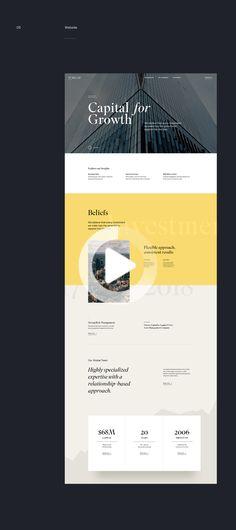 Turecap Ventures on Behance Web Design, Website Design, Design Ideas, Design Websites, Web Layout, Behance, Inspiration, Car, Biblical Inspiration
