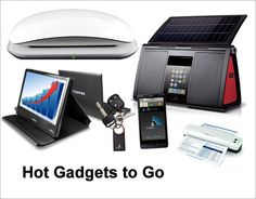 Cool Gadgets When You're on the Go