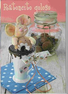 Album Archive - Muñequeria Country No. Diy And Crafts, Arts And Crafts, General Crafts, Gingerbread Cookies, Diy Tutorial, Projects To Try, Miniatures, Teddy Bear, Album