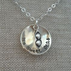 My Sweet Peas Necklace
