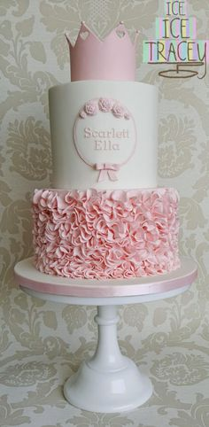Scarlett's Christening by Ice Ice Tracey