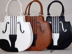 AMO TOREBKA - SKRZYPCE Fashion Handbags, Purses And Handbags, Fashion Bags, Leather Handbags, Leather Bag, Creative Bag, Novelty Bags, Latest Bags, Unique Bags