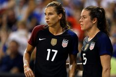 Tobin Heath has always been one of the most skillful and fun-loving players on the U.S. Women's National Team, but she is also now embracing a role as a leader on the team ahead of her third Olympic games. [read more] Soccer Pro, Us Soccer, Girls Soccer, Soccer Stuff, Female Soccer Players, Good Soccer Players, Professional Soccer, Professional Women, Soccer Photography