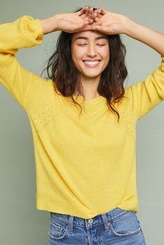 Cashmere Regency Sweater   Anthropologie