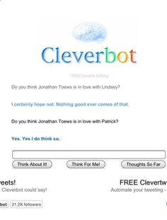 Cleverbot knows whats up