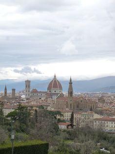 """Panorama, Camera di """"Villa La Vedetta"""" (Hotel), Firenze Italia (Marzo)"""