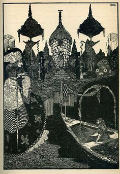The Snow Queen, by Harry Clarke
