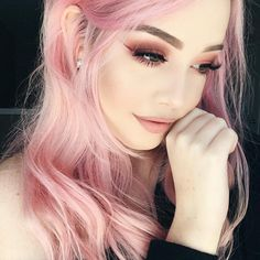 Galerie von how i dye my hair pastel pink - dying my hair pa Jennifer Rostock, Dying My Hair, Make Up Inspiration, Mermaid Hair, Rainbow Hair, Hair Inspo, Pink Hair, Pretty Hairstyles, Pastel Hair