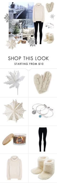 """""""Christmas Eve"""" by madelinepeters ❤ liked on Polyvore featuring moda, Bibico, Dot & Bo, Alex and Ani, Sonoma life + style, NIKE, STELLA McCARTNEY y M&Co"""