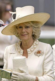 Europe's Royal Jewels — Topaz Brooch ♕ Camilla, Princess of Wales