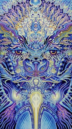 Psy Art by Tim Anderson / Sacred Geometry <3