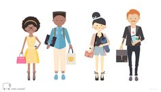 Illustration for Coton Mouton Dolls about Tribes of Montreal. Design by éloïtsmi, graphic designer www.eloitsmi.com
