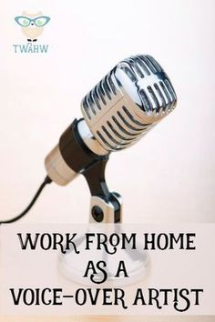 Voice Over jobs are one of the many work from home opportunities that most of us know very little about. Three artists share their experiences and tips.