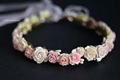 Floral crown Wedding flower crown Flower by LuckyKidsHandmade
