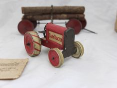 Tin Toy Collectors » Showcase » twinsquirrel » Little logging set » Little logging set by Animate Toys Toy Collectible
