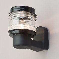 Philips 1 Light Marine Outdoor Wall Lantern - Black from Litecraft £31 black